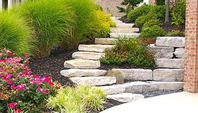 Stone steps ~ West Chester, OH